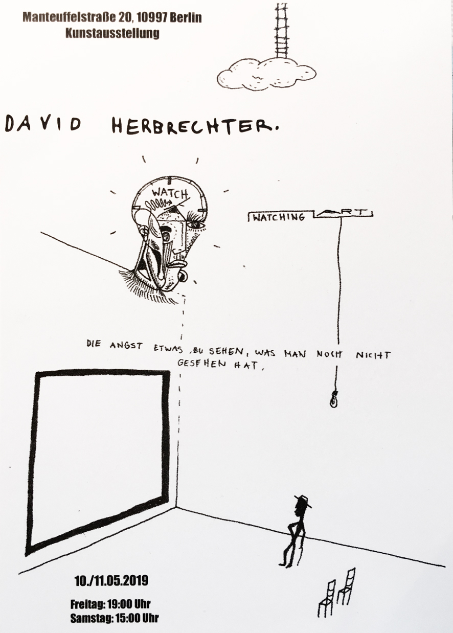 David Herbrechter – WATCHING ART